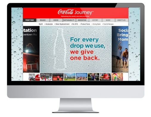 Jackson Spalding - The Cocoa-Cola Company, Replenishing Water, Online