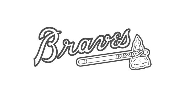 braves mascot coloring pages - photo#11