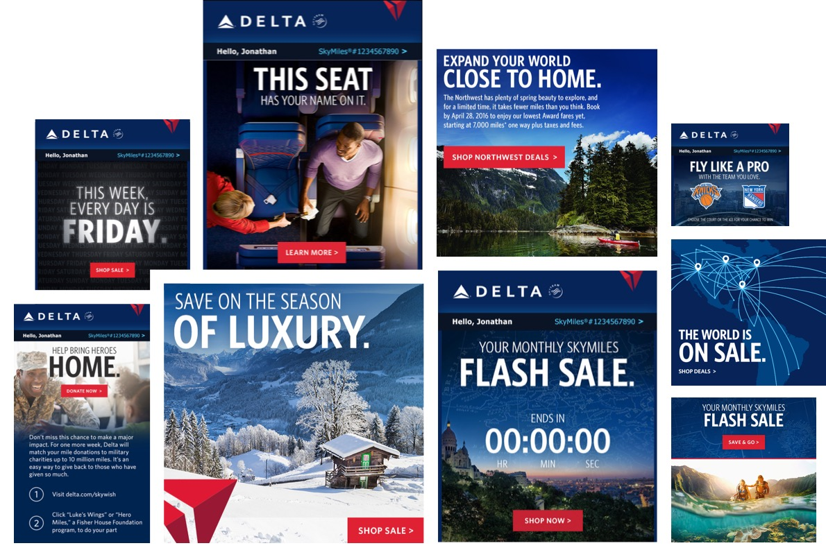 Jackson Spalding - Delta Air Lines, Multi-channel marketing