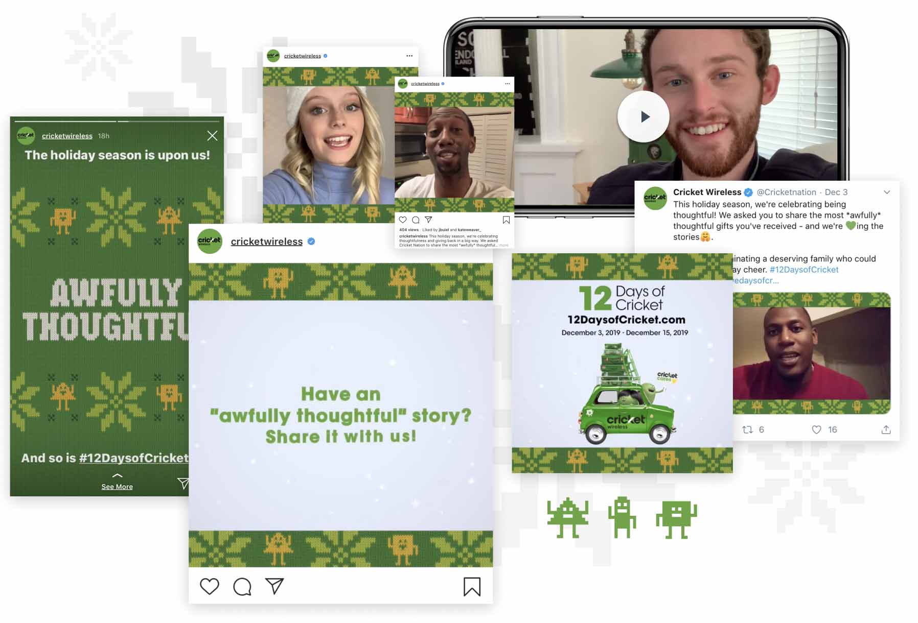 Cricket Wireless Social Posts